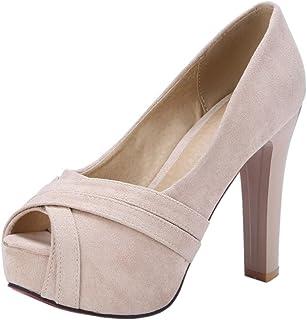 : talon Ecru Bottes et bottines Chaussures