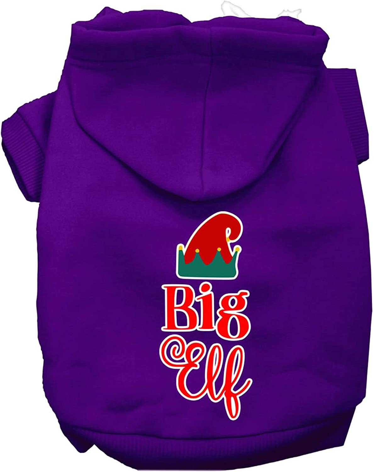 Mirage Pet Product Big Elf Screen Print Excellence XS Same day shipping Hoodie Purple Dog