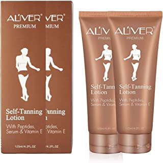 Self Tanner, Self Tanning Lotion, Sunless Tanning Lotion for Flawless Darker Bronzer and Moisture Skin, Self Tanning Lotion - Self Tanners, Fake Tan Lotion