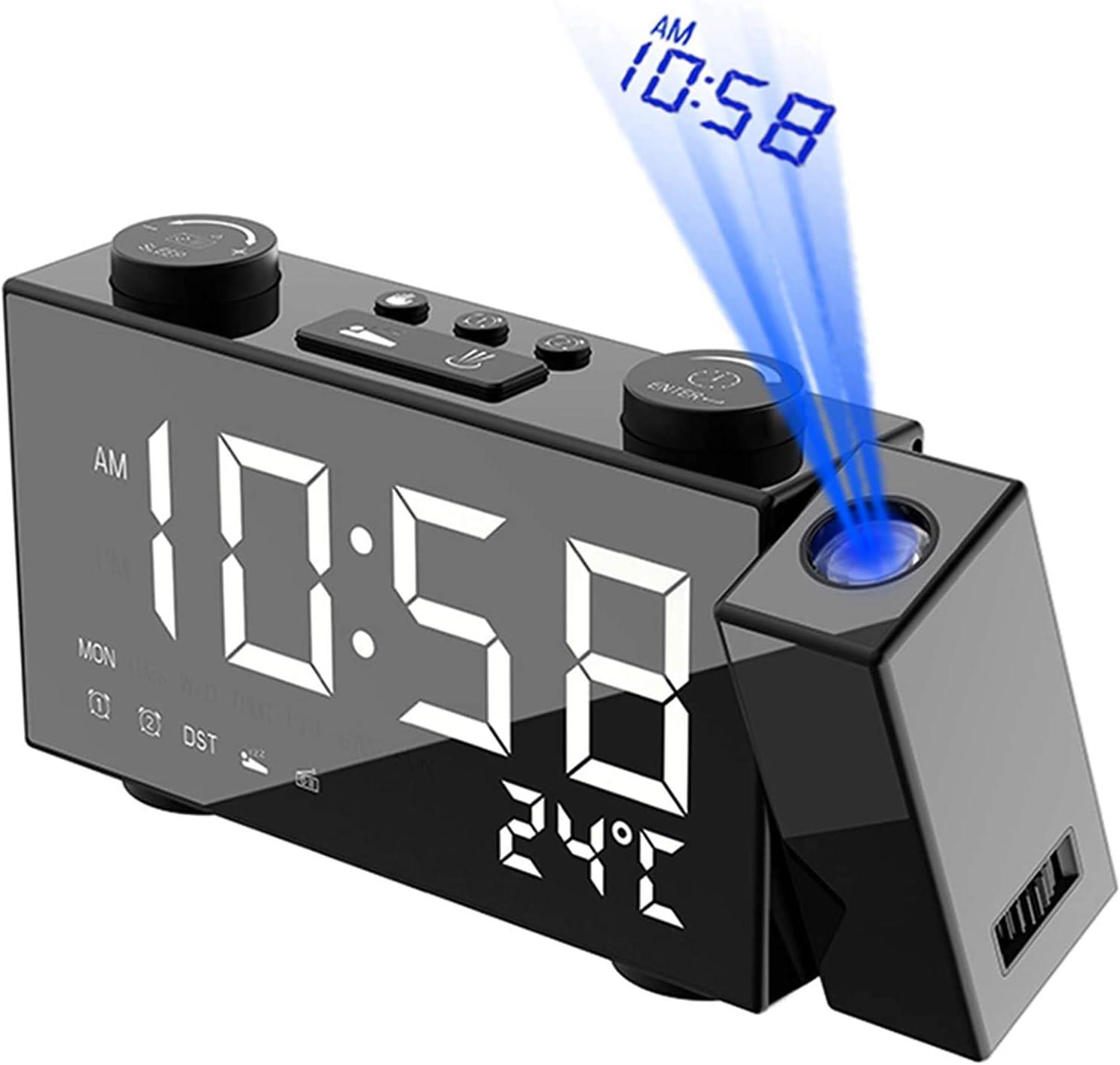 Llpeng Surprise price LED Alarm Clock Date Max 51% OFF Function Digital Dual