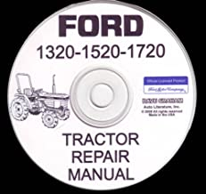bishko automotive literature Shop Service Repair Manual CD Engine for 1984-1995 Ford 1320 1520 1720 Tractor