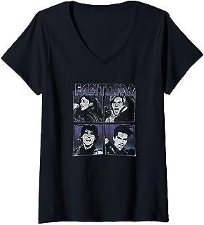 Femme Julie And The Phantoms Fantoms Box Up T-Shirt avec Col en V