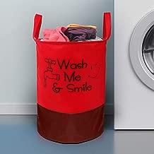 E-Retailer™ Laundry Bag for Dirty Clothes, Folding Round Laundry Bag (Capacity : 45 LTR)