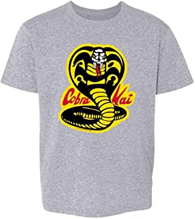 Cobra Kai Costume The Karate Kid Retro Martial Art Youth Kids Girl Boy T-Shirt