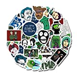 20 PCS Stickers Pack Mighty Aesthetic Boosh Vinyl Colorful Waterproof for Water Bottle Laptop Scrapbooking Luggage Guitar Skateboard