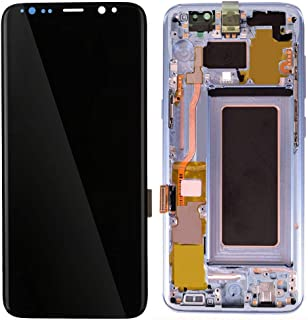 TianranRT? Ensamblaje de Digitalizador de Pantalla Lcd Para Samsung Galaxy S8 + Plus Pantalla Negro,Azul