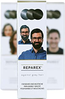Reparex For Beard and Mustache - No More Gray in the Mirror - Safe and Easy to Use Gray Beard Treatment - Gray Beard Solution - Not a Gray Beard Dye