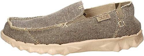 Dude chaussures Toundra Naturel Naturel Farty Masculine Organique Coton Feuillet sur Mule  venez choisir votre propre style sportif