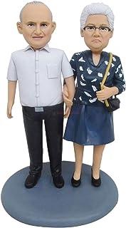 figurina nonno bambolina personalizzato buon compleanno decorazione regalo bambola regalo personalizzato marito matrimonio...