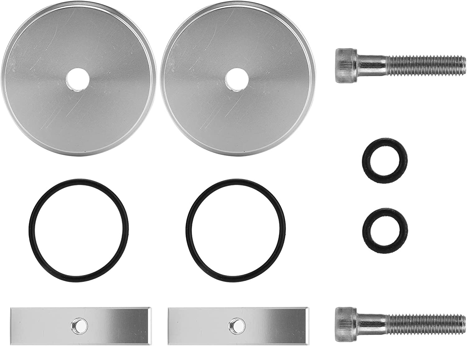 Portland Mall Akozon Freeze Plug Max 84% OFF Kit with Replacement Rubber Aluminum O-Rings