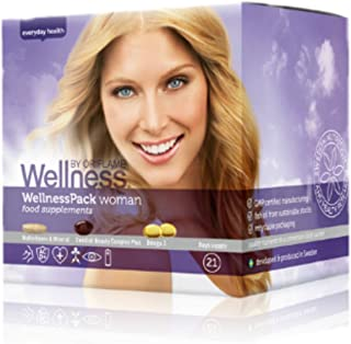 Oriflame Wellness Pack Mujer Complementos Suecos Belleza Complex Plus + Multivitamina