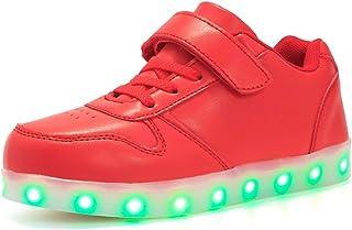 Malltea Baskets lumineuses pour enfants, avec motif Spider-Man, chaussures de course légères et décontractées pour garçons...