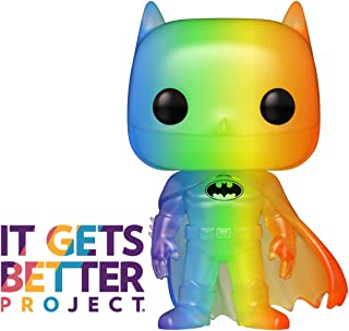 Funko Pop! Heroes: Pride 2020 - Batman (Rainbow), 3.75 inches
