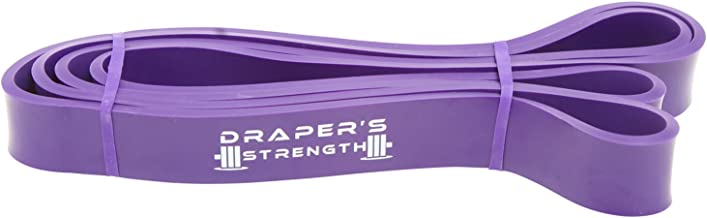 Draper's Strength Heavy Duty Pull Up Assist and Powerlifting Stretch Bands Add Resistance for Stretching, Exercise, and As...
