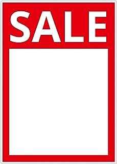 10 laminierte Preisschilder/Angebotsschilder 216 x 303 mm mi