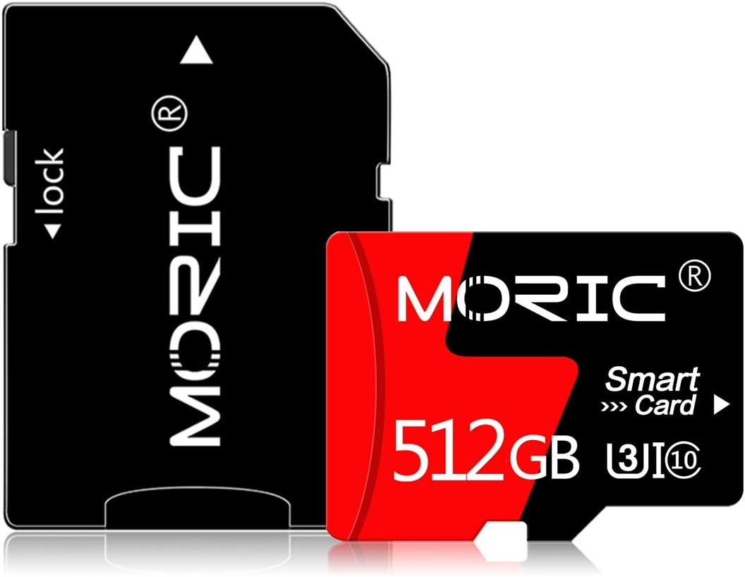 512GB Micro SD Card Memory Card Class 10 High Speed Flash Card with Adapter for Android Phones/PC/Computer/Camera