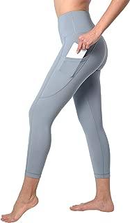 90 Degree By Reflex Squat Proof Side Phone Pocket Yoga Capris - High Waist Cropped Leggings