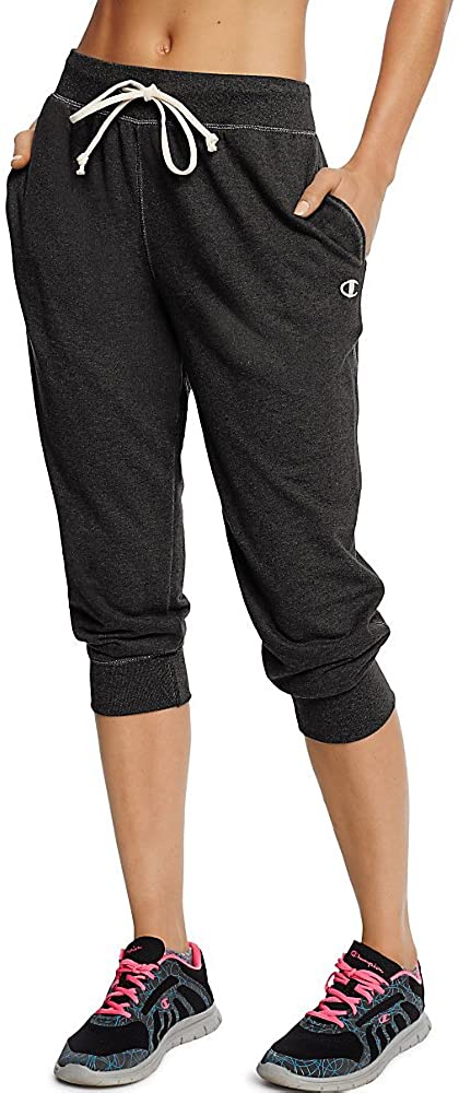Limited time for free shipping Champion Women's Sale SALE% OFF French Jogger Capri Terry