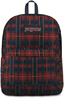 Simply Cozy Black Red and White Flannel Tartan Plaid Backpack Purse Kids Backpack with 4 Pockets Ready to Ship!