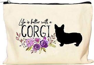 Corgi Life is Better Makeup Bag