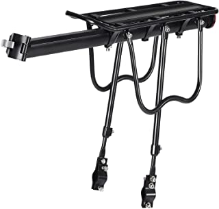 SONGMICS Bike Cargo Rack Carrier, Universal, Adjustable Bicycle Carrier, USBC02B