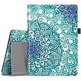 Fintie Hülle für Lenovo Tab M10 (TB-X505L TB-X505F TB-X605L TB-X605F) / P10(TB-X705F) - Folio Kunstleder Schutzhülle mit Standfunktion für Lenovo Smart Tab M10 / P10 (10,1 Zoll) Tablet PC, Smaragdblau
