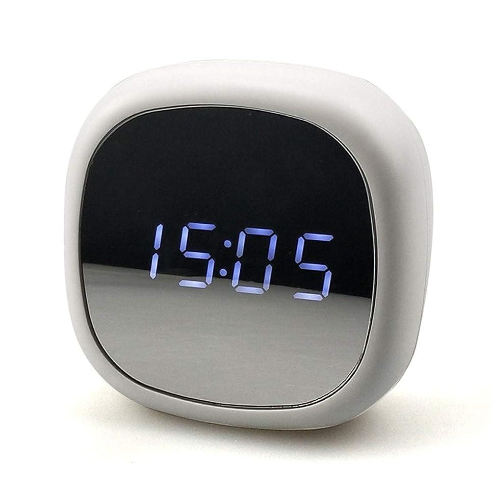 インペリアル出発抑止するサイレント目覚まし時計のベッドサイド非カチカチデジタル目覚まし時計