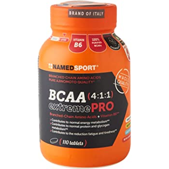 Named Sport Bcaa 4:1:1 Extreme Pro - 110Cpr - 370 Gr