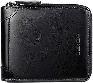 Ultramall Men Wallets Coin Purse Clutch Hasp Retro Short Wallet Package Multi-card Holder For Men