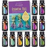 Top Essential Oils Set and Essential Oils Blends - Top 12/0.33oz (10ml) Essential Oils and Blends for Diffuser,...