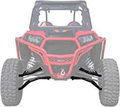 SuperATV High Clearance Upper & Lower A Arms for Polaris RZR XP Turbo/XP 4 Turbo (2016+) - Black