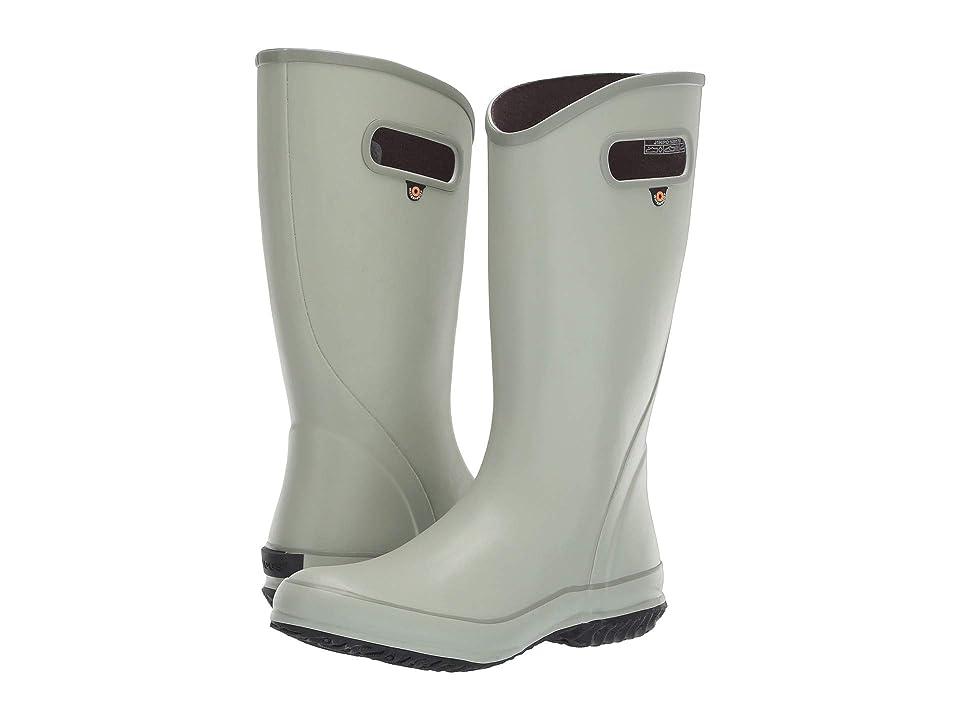 Bogs Solid Rain Boot (Sage) Women
