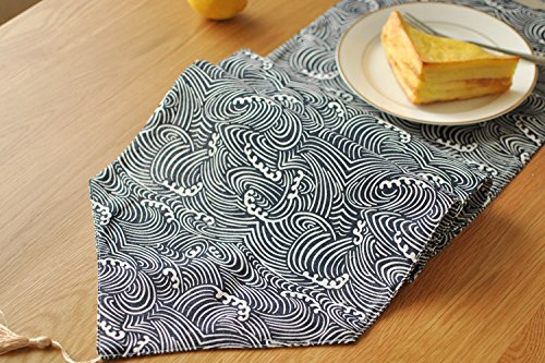 Katoen Style decoratieve stof tafelloper,30 * 220cm
