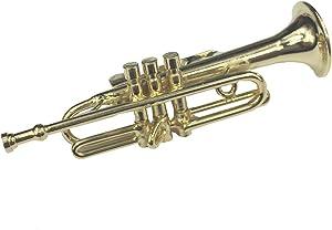 Miniblings Trompeta Trompeta Insignias Broche Broche Caja trompetista vergold