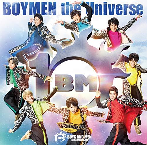 【Amazon.co.jp限定】BOYMEN the Universe(初回限定盤B)(CD+DVD)(特典:メガジャケ(初回限定盤B絵柄)付)