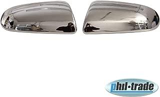 Fluence cromo espejo conteras de acero inoxidable