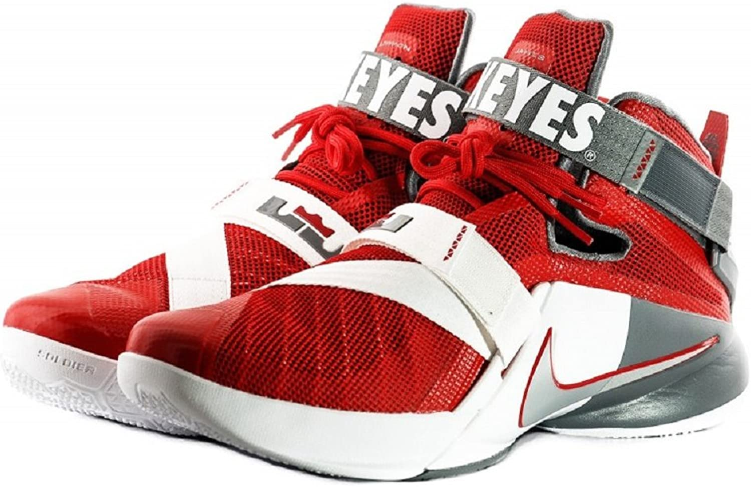Nike Lebron Zoom Soldier IX 9 Premium Ohio State Basketball shoes