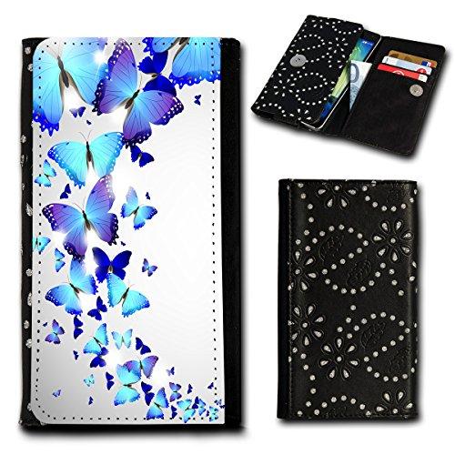 Book Style Flip Handy Tasche Case Schutz Hülle Foto Schale Motiv Etui für ZTE Blade C341 - Flip SU1 Design10