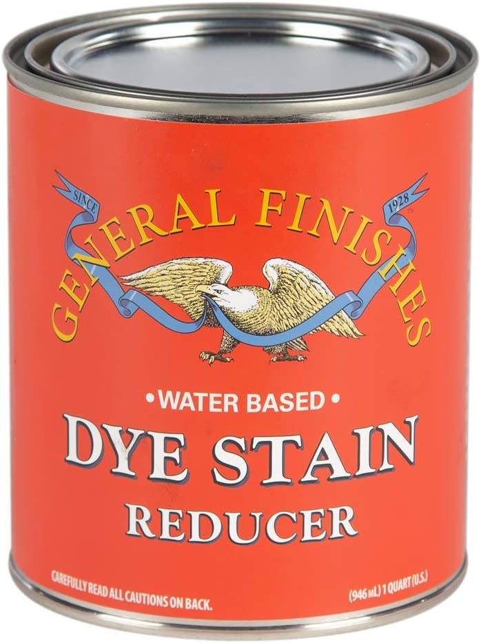 General San Francisco Mall Finishes Water Based Max 68% OFF Quart Reducer 1 Dye