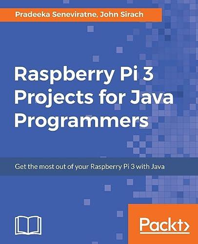 Books By Pradeeka Seneviratne_raspberry Pi 3 Projects For Java ...