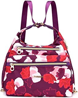 Women Durable Style Canvas Large Capacity Backpack Single Shoulder Bag Waterproof Messenger Bags Totes