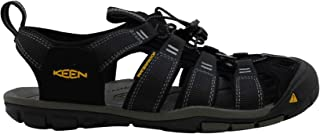 KEEN Men's Clearwater CNX Sandal,Black/Gargoyle,7 M US