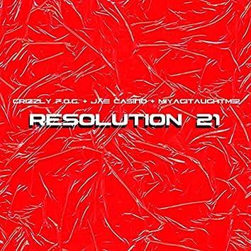Resolution '21
