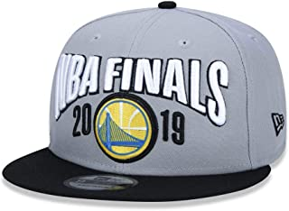 New Era NBA Finals Golden State Warriors 9FIFTY 2019 Western Conference Champions Locker Room Snapback Hat, Adjustable Cap