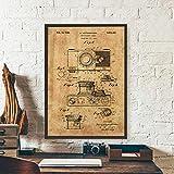 FA LEMON Kamera Vintage Poster leinwand kunstdrucke