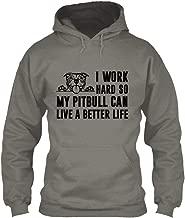 Pitbull Better Life Sweatshirt - Gildan 8oz Heavy Blend Hoodie