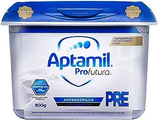 (跨境自营)(包税) Aptamil 德国爱他美白金版安心罐婴儿配方奶粉Pre段800g(0-6个月)