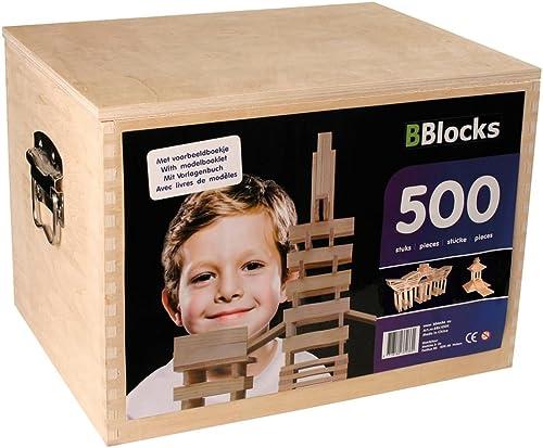 Bbl500K - Bblocks 500-teilig Kist