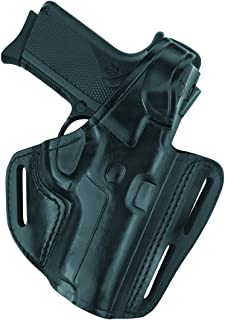 Gould & Goodrich B803-G19 Gold Line Three Slot Pancake Holster (Black) Fits GLOCK 19, 23, 32
