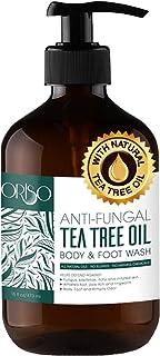 Tea Tree Oil Body Wash - Antifungal - Antibacterial Soap-Helps Athletes Foot - Toenail Fungus - Ringworm - Jock Itchy - Ac...